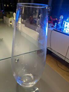 """11"""" Glass Flower Vase"""