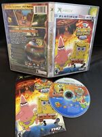 XBOX / 360 ☆ SPONGEBOB SQUAREPANTS THE MOVIE GAME☆ SHIPS TODAY! family collector