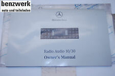 Mercedes manual de instrucciones English manual becker audio 10/30 1685842583