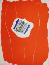 Robert MOTHERWELL (1915-1991) Lithographie Lithograph de 1968 Revue XXème siècle