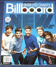 BILLBOARD MAGAZINE/YEAR IN MUSIC 2012/ONE DIRECTION/TOP NEW ARTIST/DOUBLE ISSUE!