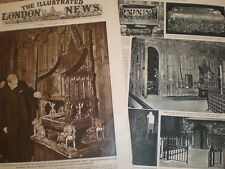 Photo article theft of Stone of Scone from Westminster Abbey London 1951