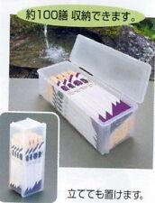 Japanese Plastic Chopsticks Container Box Case #1815 S-1962