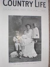 Printed photo Lady Godfrey Gathorne-Hardy daughter Earl Glasgow 1904  my ref R