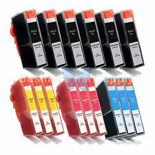 15+ PK 564XL 564XL GENERIC W/CHIP HIGH YIELD + INK LEVEL 564XL for HP Printers