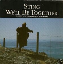 "45 TOURS--STING "" POLICE ""--WE'LL BE TOGETHER--1987"