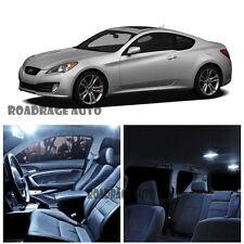 For 10-12 Hyundai Genesis Coupe Interior HID LED Kit Light Bulb White