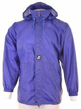 K-WAY Mens Rain Jacket Size 38 Medium Blue Loose Fit KY15