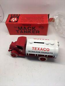 MIB 1985 ERTL 1926 Mack Tanker, #2 Bank in the Texaco Collector Series