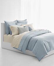 Ralph Lauren Home Graydon Melange Cotton FULL/QUEEN Comforter Chambray $385