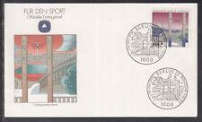 "Germany 1993 ""Olympiastadion Berlin"" beautiful artist FDC"