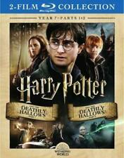 Harry Potter and the Deathly Hallows, Part 1 and 2 Blu-ray with Slipcover