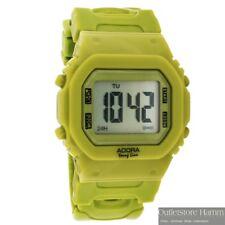 ADORA YoungLine SBADUU4001P Digitaluhr Uhr Damen Herren Jugendliche grün