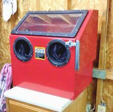 Sand Blast Abrasive Cabinet Powder Coat Blast Cabinet 30# capacity 10 CFM@100 PS