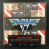 [SEALED] Van Halen – The Studio Albums 1978 - 1984 8122796893 6CD/HDCD Box Set