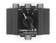 OPEK CX-5 SWITCH 3 VIE COMMUTATORE COASSIALE DEVIATORE DI ANTENNA CB HF VHF UHF