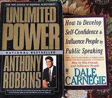 Self Help Paperbacks (2) Unlimited Power And Influence Public Speaking