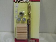"""MILESCRAFT DRILL DOWEL KIT~1/4""""~NEW"""