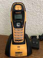 Uniden Dect 6.0 Submersible Portable Telephone Model DWX207 New Battery
