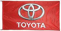 Große Toyota Nylon Flagge (Rot) 1500mm x 900mm (von)