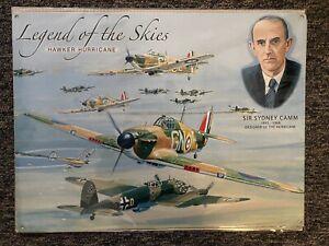 Legend Of The Skies Hawker Hurricane Metal Sign 40cmx30cm New