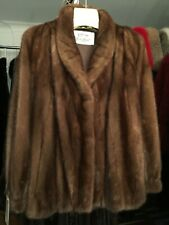 CHICAGO FUR MART. SIZE 8. BRAND NEW WITH TAGS MAHOGANY MINK JACKET.REG.$9500.00