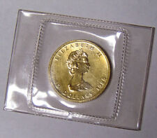 1988 Canada 1/4 oz .9999 Fine Gold Maple Leaf 10 Dollars SEALED in Plastic