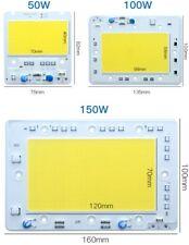 50 100W 150W LED Floodlight COB Chip Integrated Smart IC Driverless DIY 110/220V