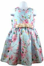 Marmellata Flower Print Girl Dress - Size 4