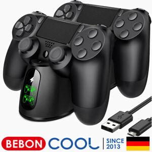PS4 Controller Ständer Ladestation mit LED Anzeige & Micro USB Kabel Zubehörsets