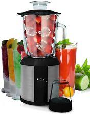 Standmixer Edelstahl Glaskrug BPA Smoothie Maker 1500 Watt