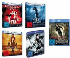 5 Blu-rays * RESIDENT EVIL : TEIL 1 - 5 IM SET ~ FSK 18 # NEU OVP +