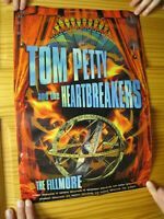 Tom Petty Poster And The Heartbreakers The Fillmore 1999