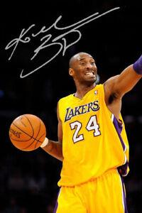 KOBE BRYANT - LA LAKERS LEGEND - NBA - 6x4 Signed Autograph PHOTO - Print