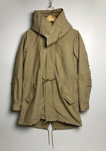 Adidas Originals Women's Jacket Full Zip Hooded Beige Size 34 FR