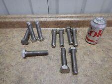 "30 NEW Monel 400 Nickel Copper SS Hex Head Bolt 7/8""-9 x 4"" F468U NEW"