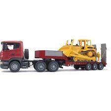 Frère scania r-série remorque avec CAT-bulldozer 3555