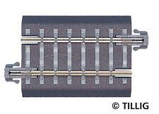 EW 1 83322//24 HS Tillig 86312 Gleisbettung Modellgleis für linke Weiche