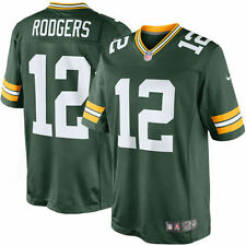 NFL Men's Jersey Green Bay Packers Aaron Rodgers Football XL Ltd Green Home