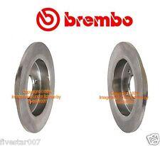2 Brembo Rear Rotors Back Brake Disc Rotor Set Pair 259 x 10 mm for Mini Cooper