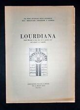 Musica spartiti - Lourdiana - Canti mariani a una, due, tre e quattro voci