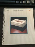 Early Apple Macintosh Imagewriter User's Manual, Very Good Condition.