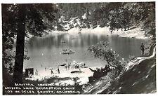 RPPC,Crystal Lake,Above Azusa,California,Rec.Camp,San Gabriel Mts.Frasher,1945>