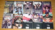 Punisher War Journal vol. 2 #1-26 VF/NM complete series + variant - remender set