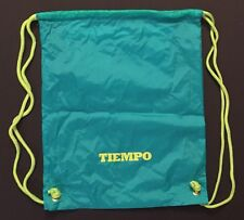 Nike Tiempo Backpack Drawstring Cleat Bag Soccer Football Teal Yellow New