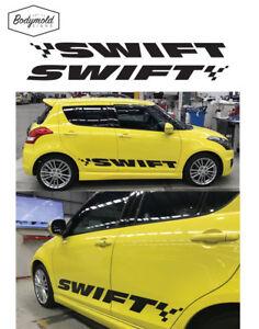 Suzuki Swift SWIFT word decals