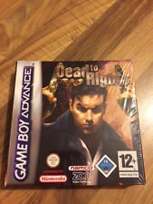 GBA: DEAD TO RIGHTS   NEUF/NEW    Game Boy Advance    PAL