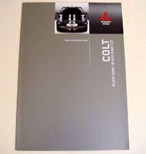 Mitsubishi. Colt. Mitsubishi Colt. Black Hawk. FOLLETO de ventas de septiembre de 2007