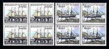 """GROENLANDIA - 1998 - """"NORDEN"""" - La navigazione marittima. Velieri - Carta fluor."""
