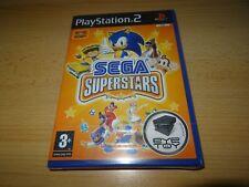 PS2 SEGA Superstars UK Pal, New & Sony Factory Sealed